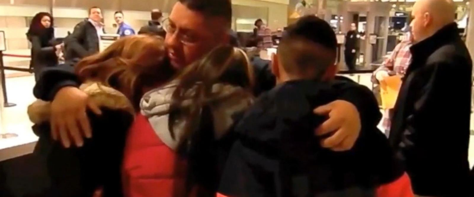 VIDEO: A tearful scene unfolded at Detroit Metropolitan Airport on Monday morning, where Jorge Garcia, a father of two and a 30-year resident of Detroit, was deported to Mexico amid cries from his family.