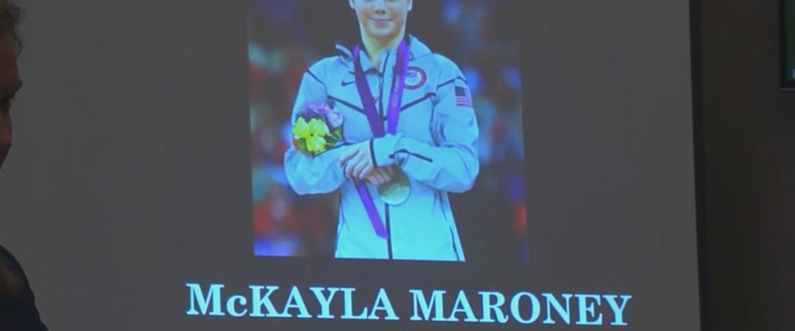 A statement written by Olympic gymnast McKayla Maroney was read against the man who molested her when she was a young girl -- former Olympic doctor Larry Nassar.