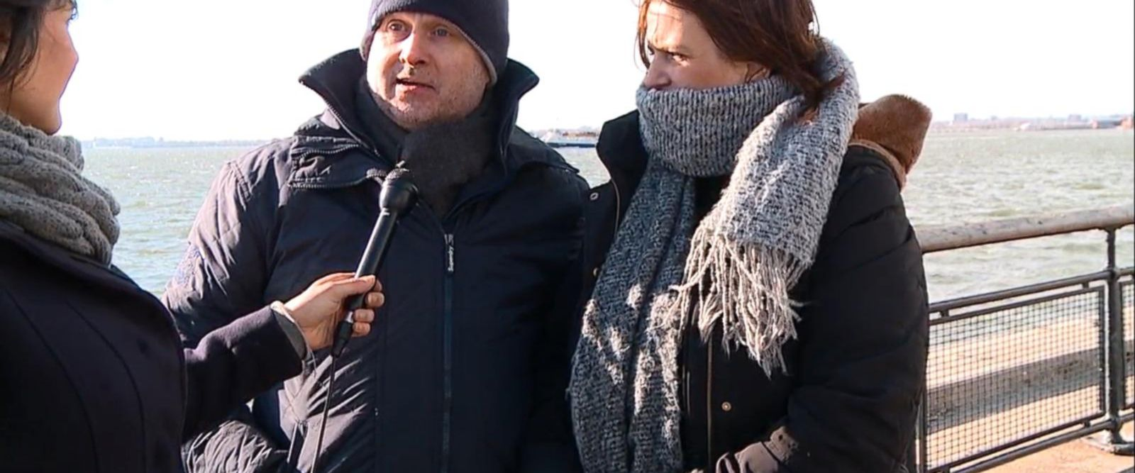 VIDEO: Statue of Liberty closed due to federal government shutdown.