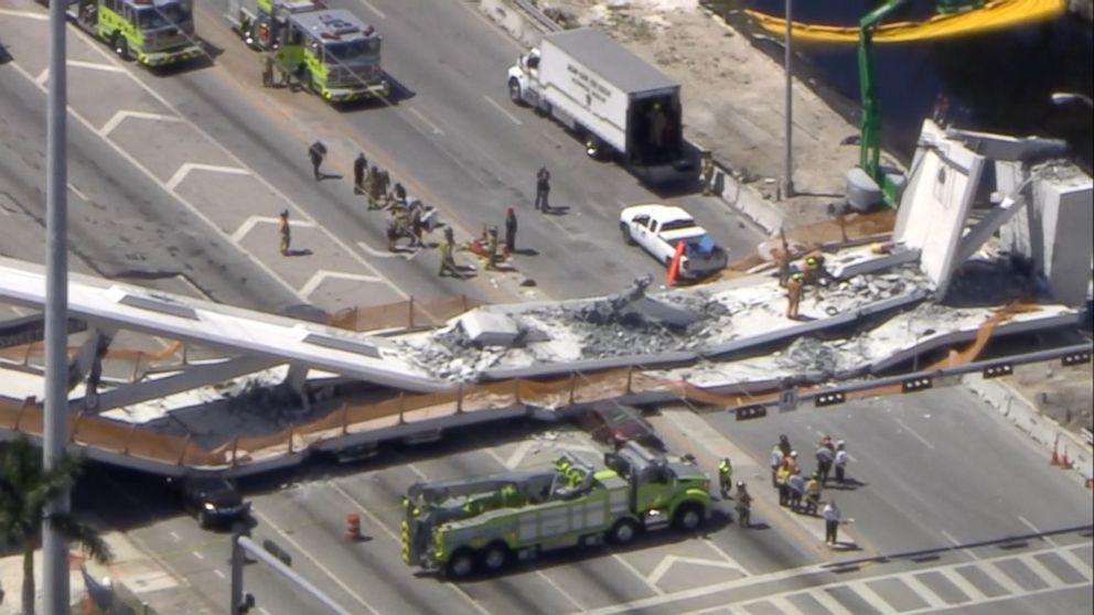 Witness says Florida bridge collapse felt like an 'earthquake'