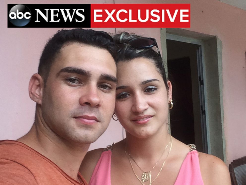 PHOTO: Elian Gonzalez poses for a selfie with his fiance Ilianet Escano.