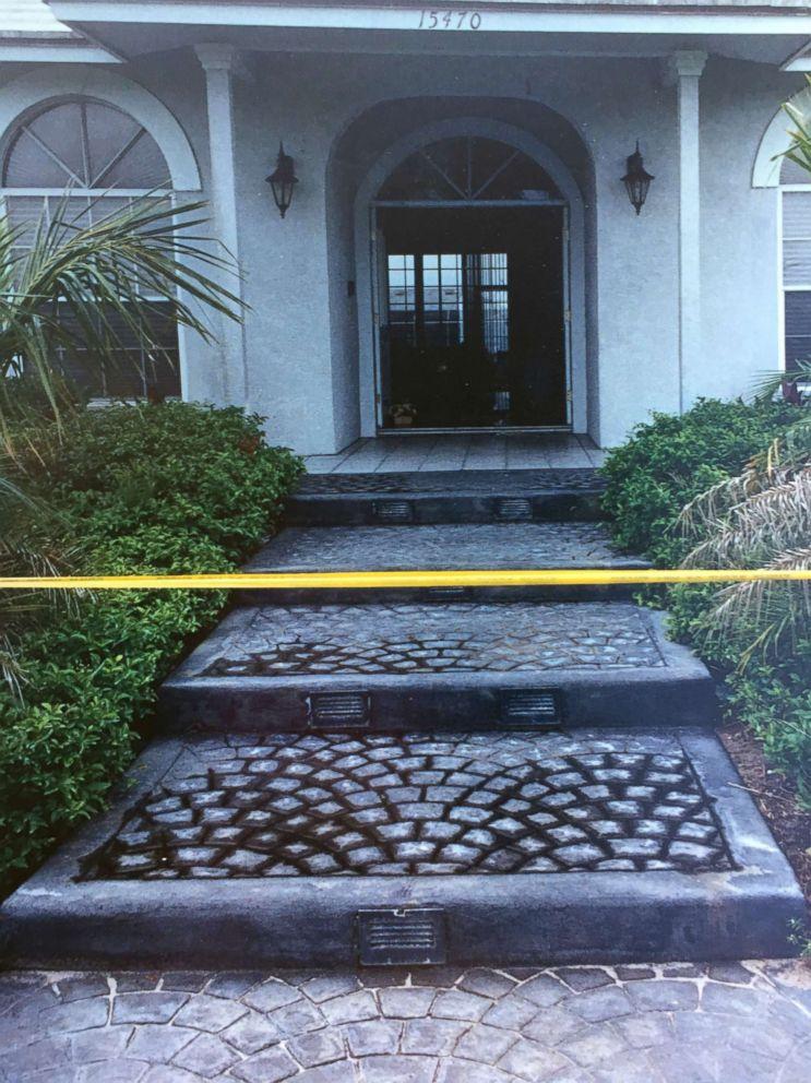 PHOTO: On May 26, 1990, Marlene Warren of Wellington, Fla. was shot at her front door, pictured here.