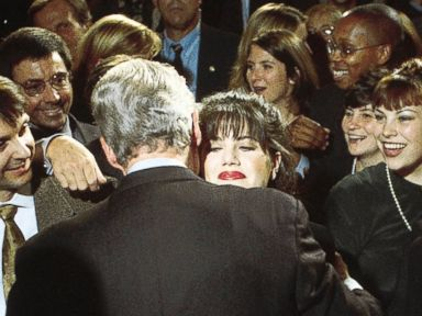 Photos: Remembering the Monica Lewinsky Scandal in Pictures