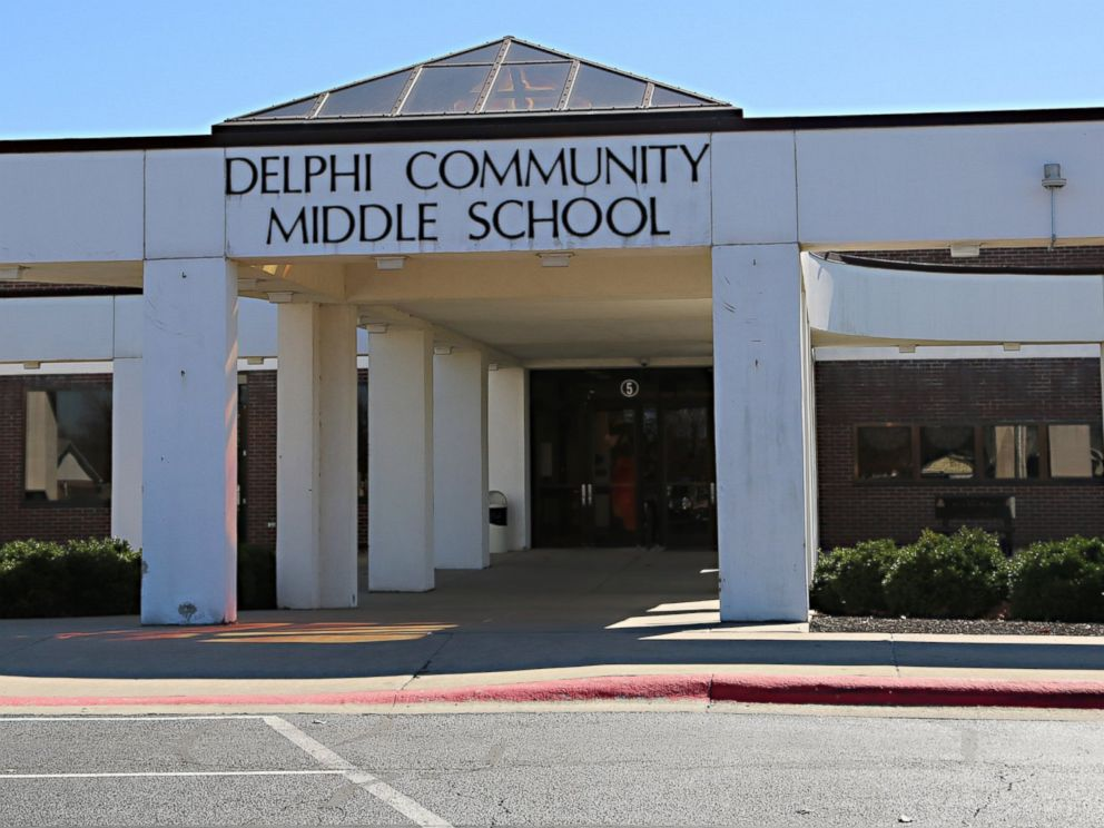 PHOTO: Delphi Community Middle School in Delphi, Indiana.