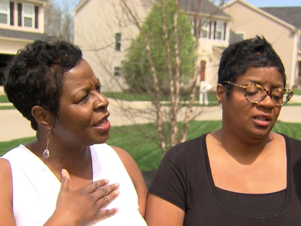 PHOTO: Debbie Godwin, left, and Tonya Godwin Baines, daughters of Robert Godwin Sr., who was shot on camera with the video later posted to Facebook, say their murdered father taught them to love God and to forgive.