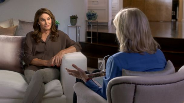 PHOTO: Caitlyn Jenner sits down with Diane Sawyer.