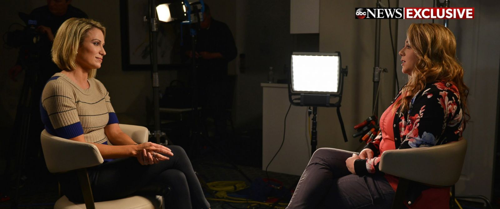 """PHOTO: Leanna Taylor sat down for an exclusive interview with ABCs Amy Robach for """"Good Morning America"""" and """"20/20."""""""