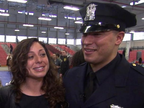 Double-amputee military veteran graduates from police academy