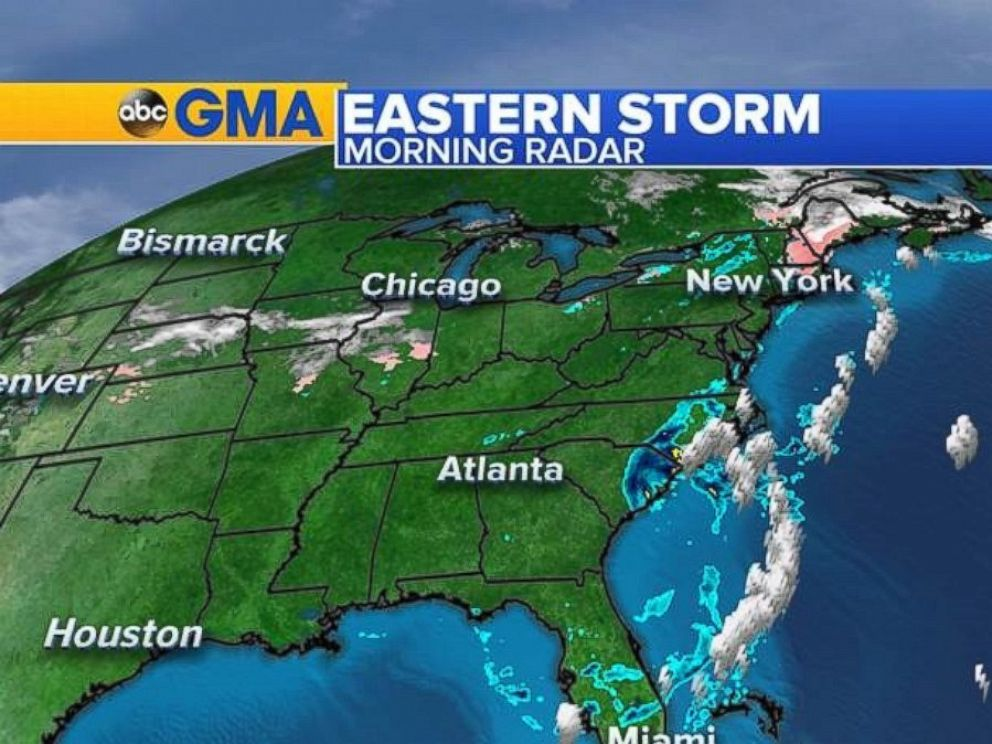 Several flights leaving ORF canceled due to storm in Northeast