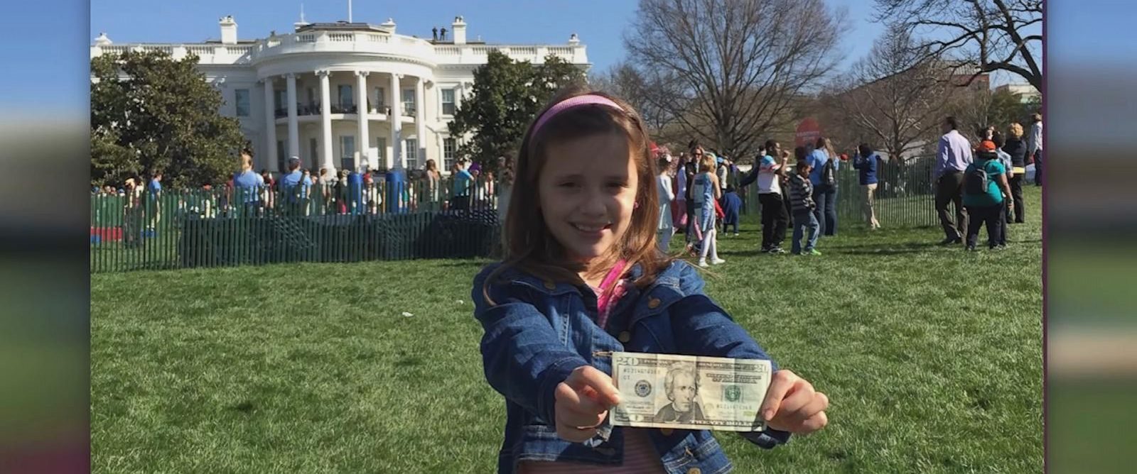 PHOTO: A young girl from Cambridge, Mass. wrote to President Obama two years ago asking for a woman to be put on American paper currency, and on her 11th birthday her wish came true.