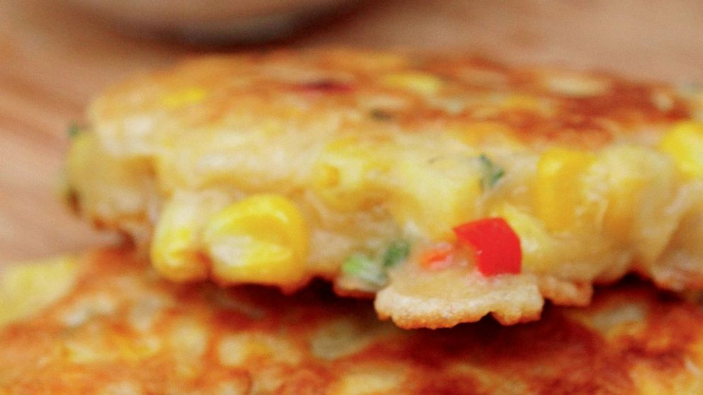Mary McCartney Corn Fritters | Recipe - ABC News