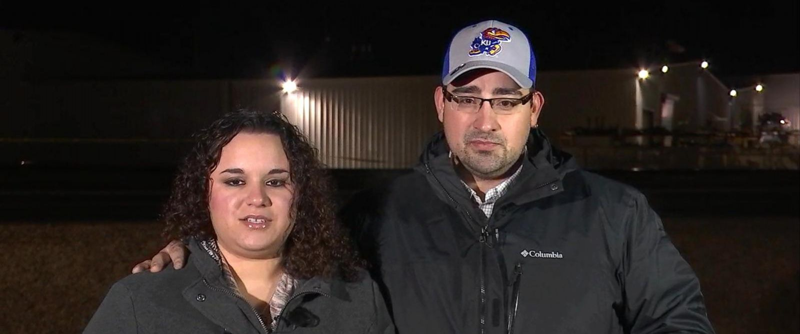 PHOTO: Jared Trujillo was inside Excel Industries during the shooting while his wife, Jennifer, worried at home about his fate.
