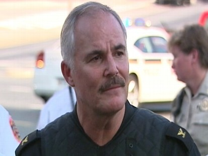 Video: Montgomery County Police Chief Manger briefs press on Discovery hostage situation.