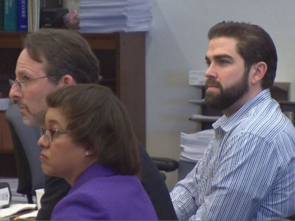 PHOTO: After only a few hours, a jury found Wozniak guilty of two counts of first degree murder on Dec. 16, 2015.
