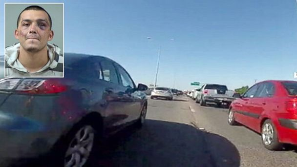 ABC KSAT reckless driver jef 140211 16x9 608 Catch Me If You Can, Motorcyclist Taunts Cops
