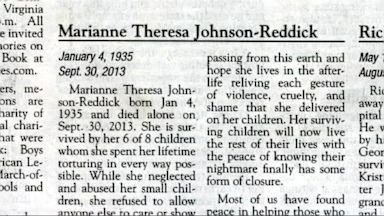 PHOTO: Johnson-Reddicks obit