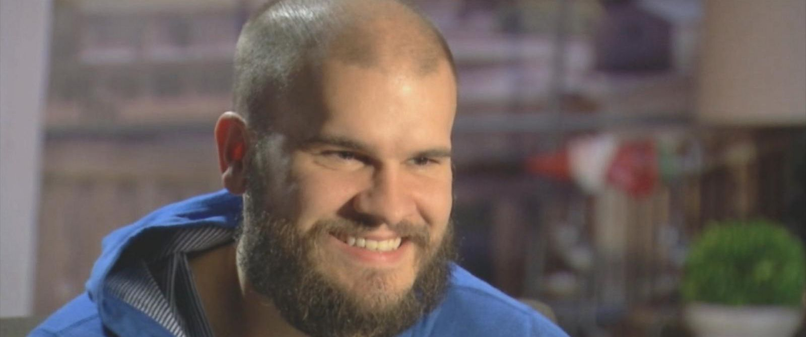 PHOTO: Nick Potts, 27, has been selected as the representative for his office Powerball pool.
