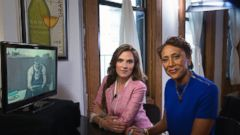 PHOTO: Taya Kyle sat down for an exclusive interview with ABCs Robin Roberts.