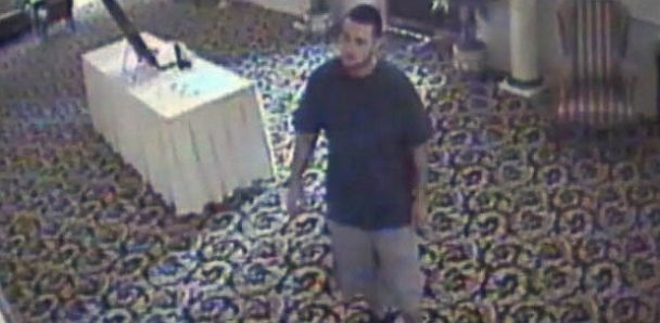 "PHOTO: A man Penn. police are calling the ""serial wedding thief"" allegedly has been stealing gifts from weddings"