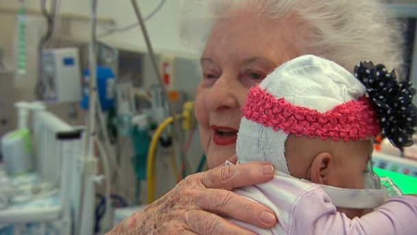 ABC baby cuddler sr 140313 16x9 608 Cuddling Babies: Hospital Volunteers Show the Power of Human Touch