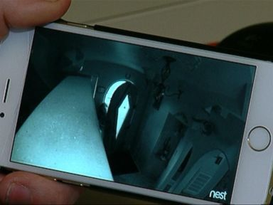 PHOTO: A Salt Lake City man caught a burglar in his home with the help of his iPhone camera.