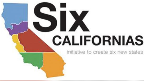 ABC california state size mar 140219 16x9 608 Petition to Split California Into Six States Gets Green Light
