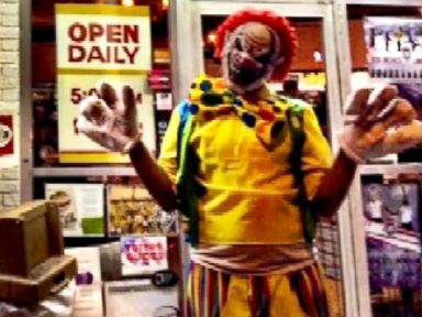 PHOTO: Tickles the clown posted a picture on social media of himself outside of Frontier Restaurant in Nob Hill seen in this video grab.
