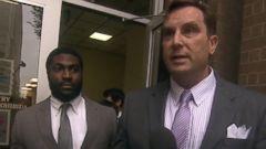 PHOTO: Cory Batey, left, is seen leaving court, June 24, 2015.