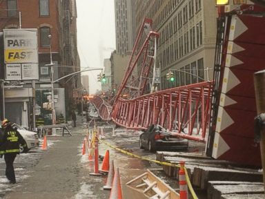 Crane Collapses in New York City, Killing 1
