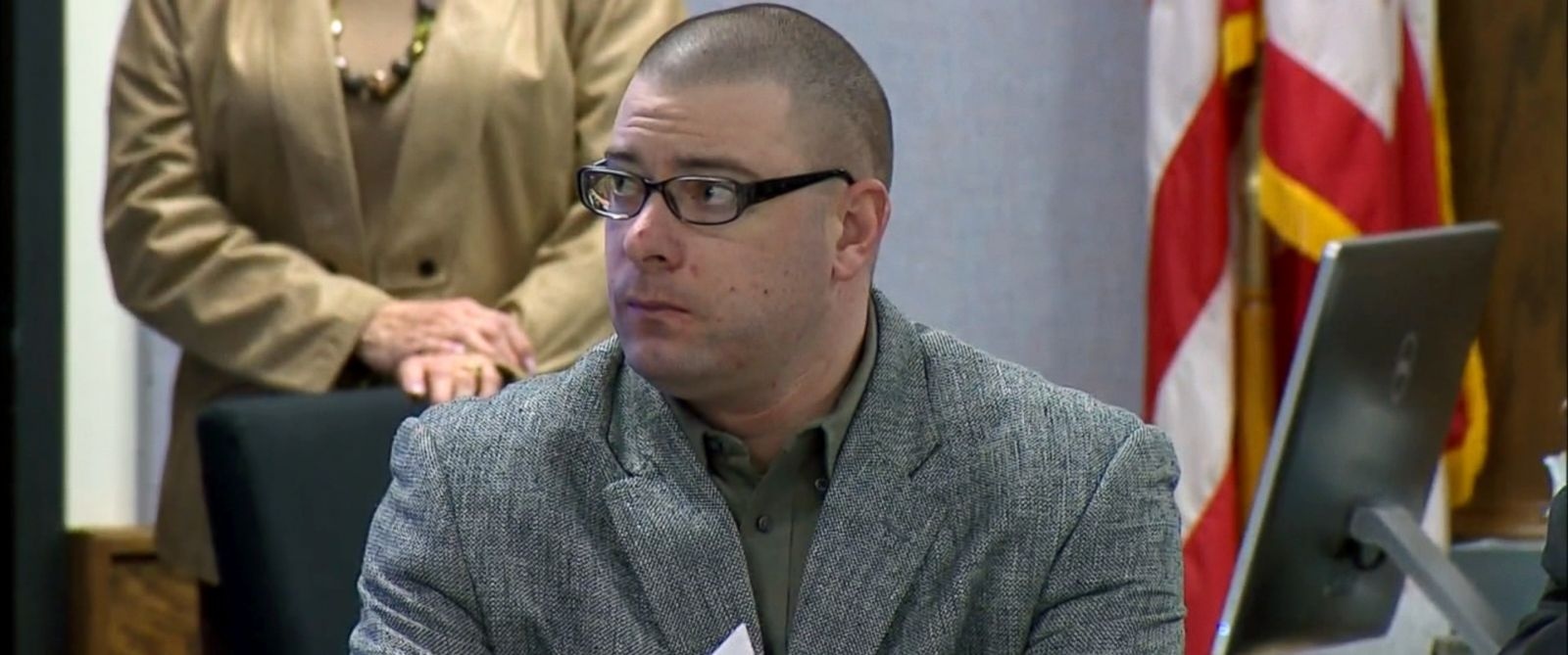 PHOTO: Eddie Ray Routh appeared in court in Texas on Monday Feb. 9, two days ahead of the expected start date for his trial.