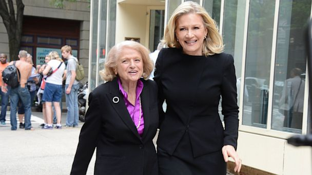 ABC edie windsor diane sawyer 2 ll 130626 16x9 608 DOMA Widow Edie Windsor: Court Ruling Gave Late Wife Dignity