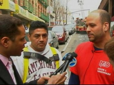NYC Explosion Heroes Pull Child From Rubble