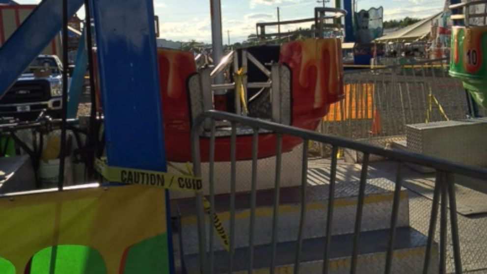 Parents of girls who fell from Ferris wheel describe anguish