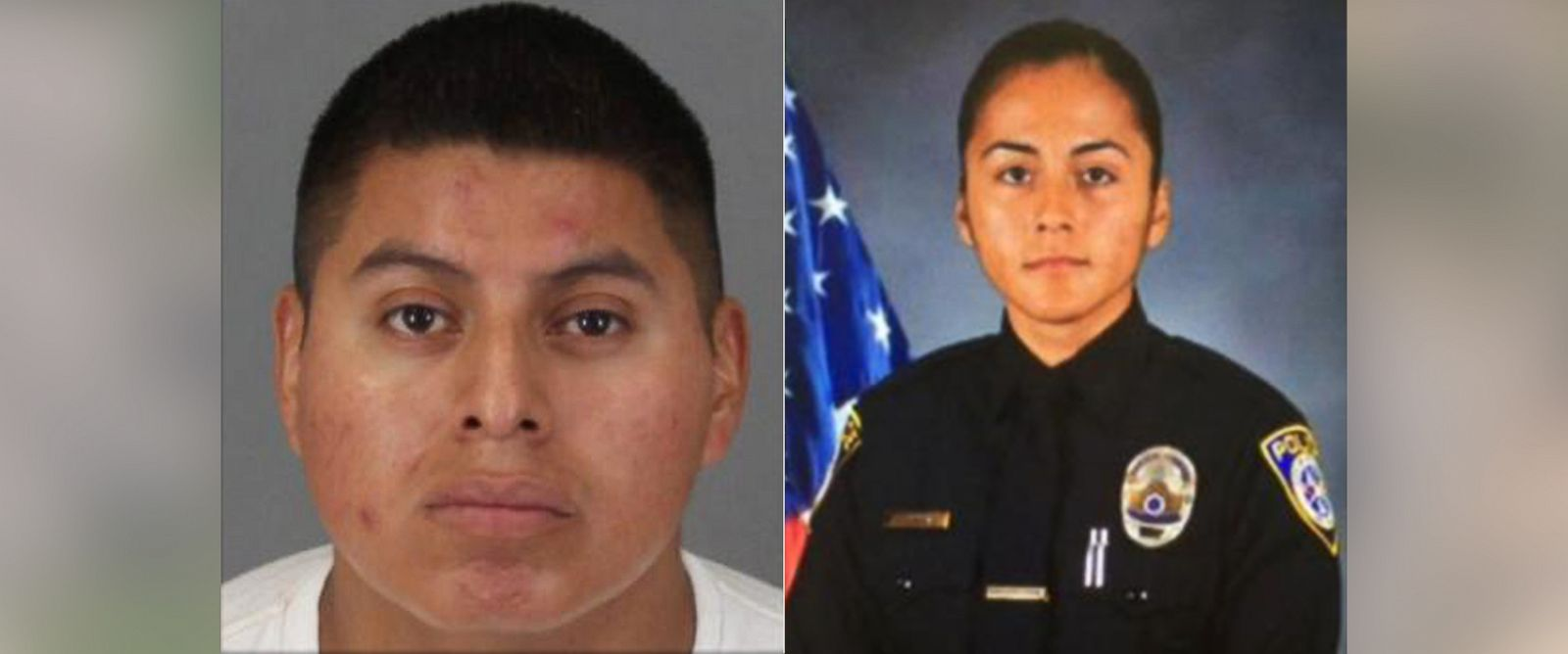 PHOTO: Freddy Perez-Rodas is accused of killing his wife, officer Laura Perez.