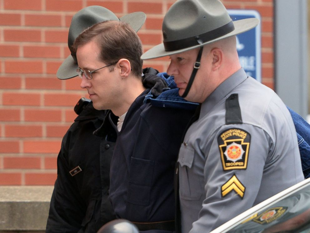 PHOTO: Eric Frein, accused of fatally shooting one state police trooper and wounding another outside their northeastern Pennsylvania barracks and apprehended after a 48-day manhunt.