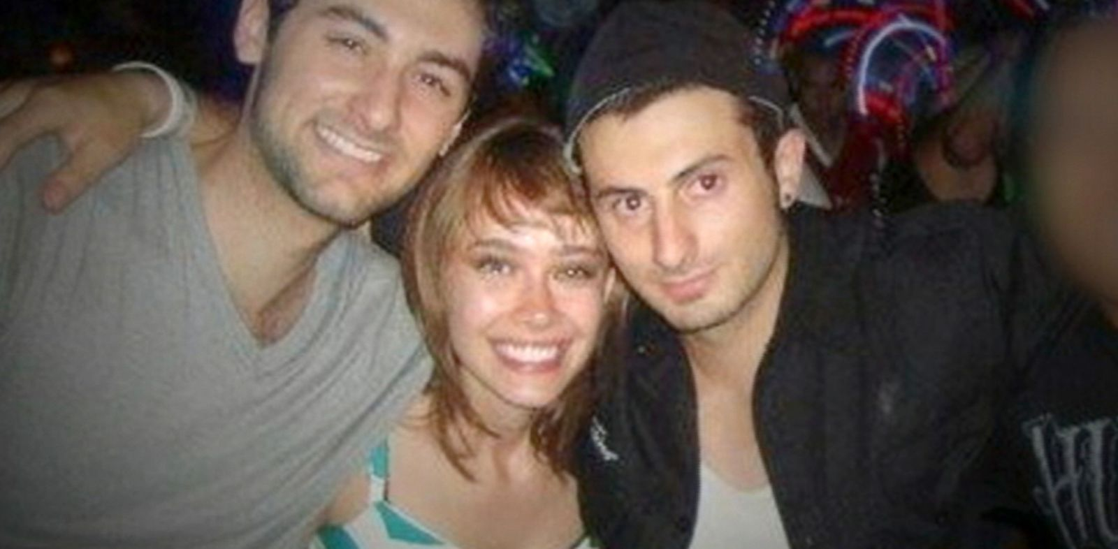 PHOTO: Gianni Belvedere, left, Ilona Flint and Salvatore Belvedere were shot to death in San Diego, Calif. in late 2013.