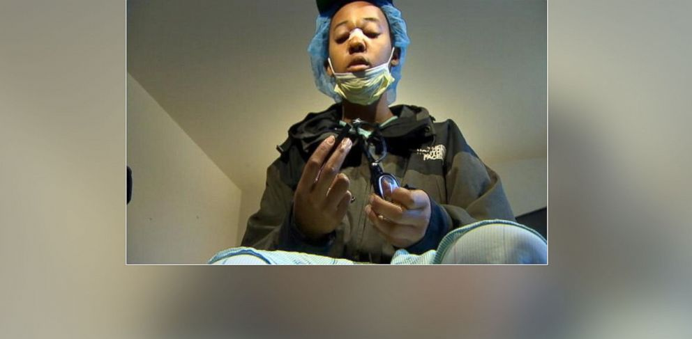 PHOTO: Alonza Bryant, 16, was shot in the face after a drive-by shooting of her Seattle, Wash., home on Dec. 21, 2013.