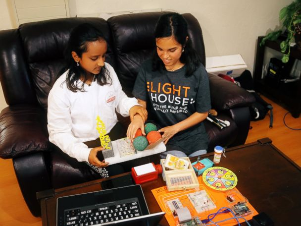 Inspiring Girl Creates Tools and Technology for the Blind