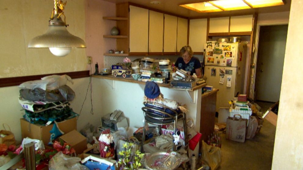 PHOTO: Nancy, a hoarder, had her home deemed a massive fire hazard by the fire department.