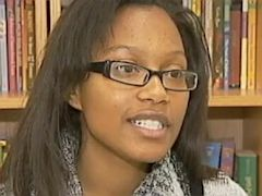 PHOTO: High school senior Chelesa Fearce, 17, has overcome homelessness to become a star student and valedictorian at Charles Drew High School in Clayton County, Ga.