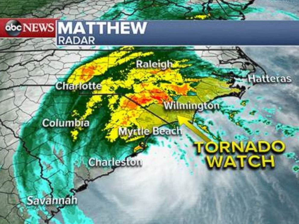 Knitting Up A Storm North Myrtle Beach : Hurricane matthew makes landfall in south carolina almost