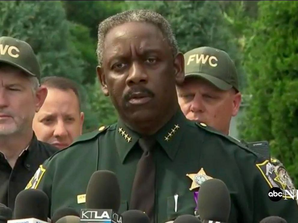 PHOTO: Orlando Police chief Jerry Demings speaks to the media, June 15, 2016, about a body found believed to be that of a 2yr-old boy dragged into a lake by an alligator at a Disney resort.