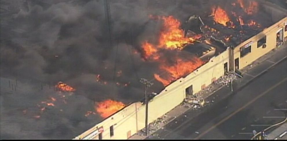 PHOTO: New Jersey beachfront in Seaside Heights is devastated by destructive blaze