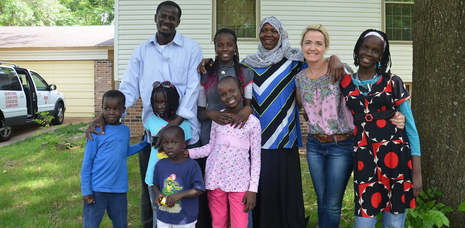 PHOTO: Teen Reunited With Family Separated In Dafur