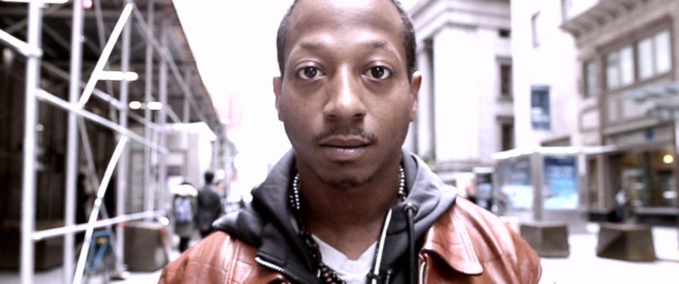 PHOTO: Kalief Browder during an interview with ABC.
