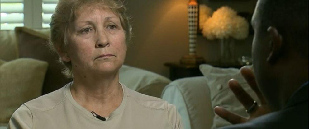PHOTO: Karen Sharpe, the mother of former North Charleston police officer Michael Slager, opens up about her sons involvement in a fatal shooting.