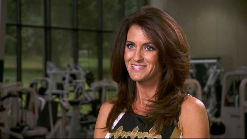 PHOTO: New Orleans Saints cheerleader Kriste Lewis is 40-years-old and a mother of two sons.