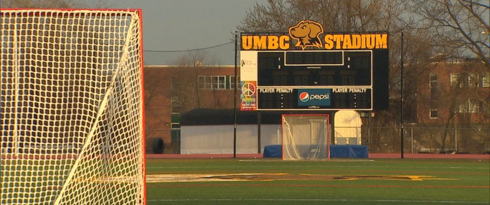 PHOTO: Five lacrosse players on the University of Maryland, Baltimore County womens team have been suspended after they allegedly sent text messages threatening to kill their freshmen teammates.