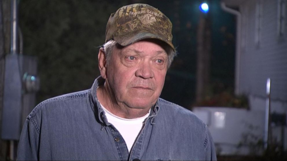 PHOTO: Larry Wilkins said he called 911 after a 7-year-old girl arrived at his home and told him she survived a plane crash.