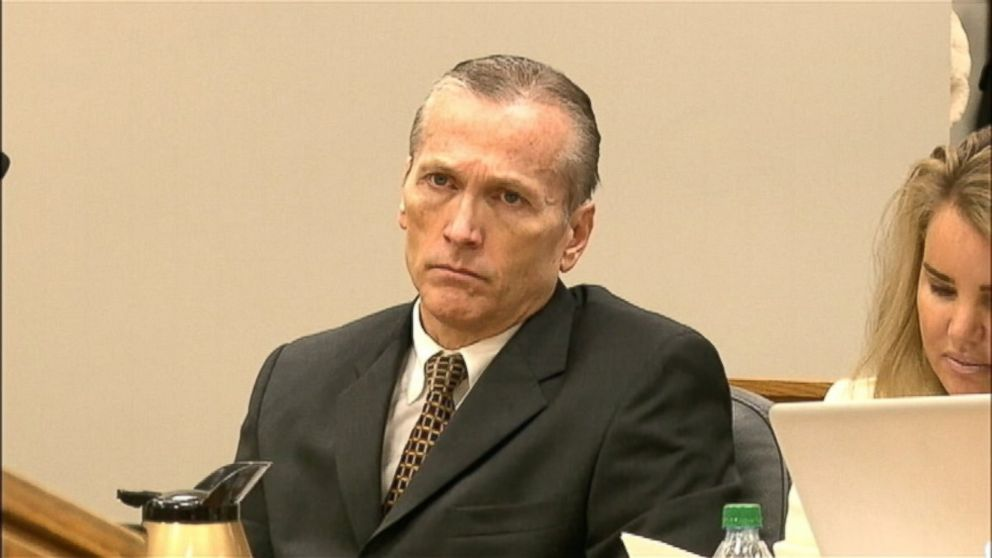 PHOTO: Dr. Martin MacNeill is shown in court during his trial in Provo, U